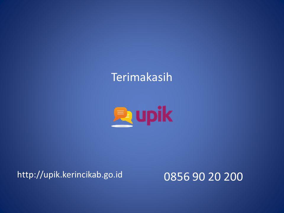 0856 90 20 200 Terimakasih http://upik.kerincikab.go.id
