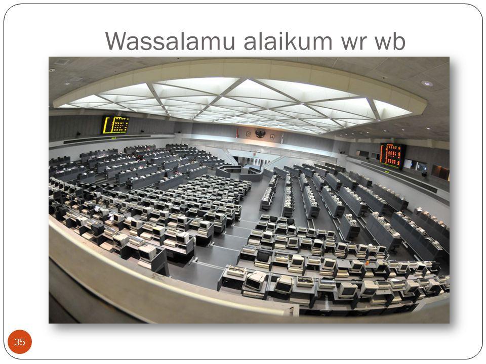 Wassalamu alaikum wr wb 35