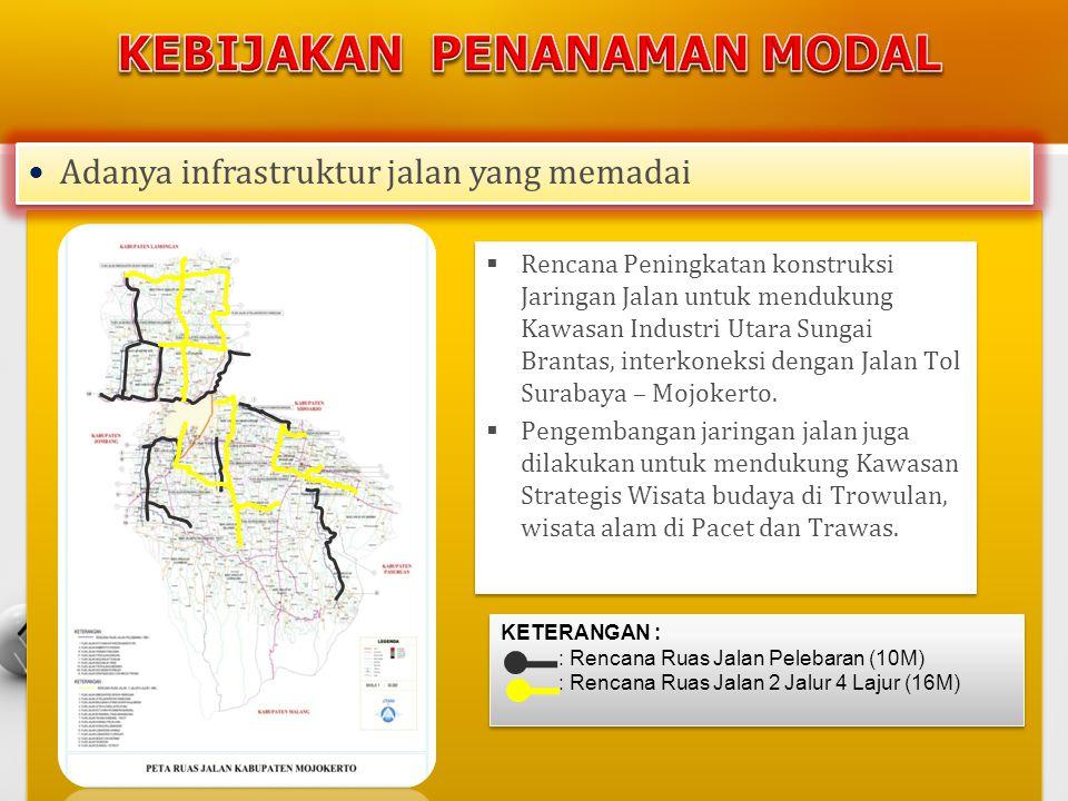 •Peluang investasi di kabupaten mojokerto meliputi : A.