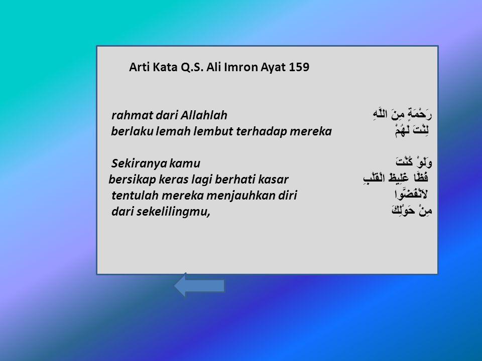 Arti Kata Q.S.