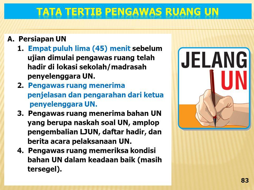 A.Persiapan UN 1.