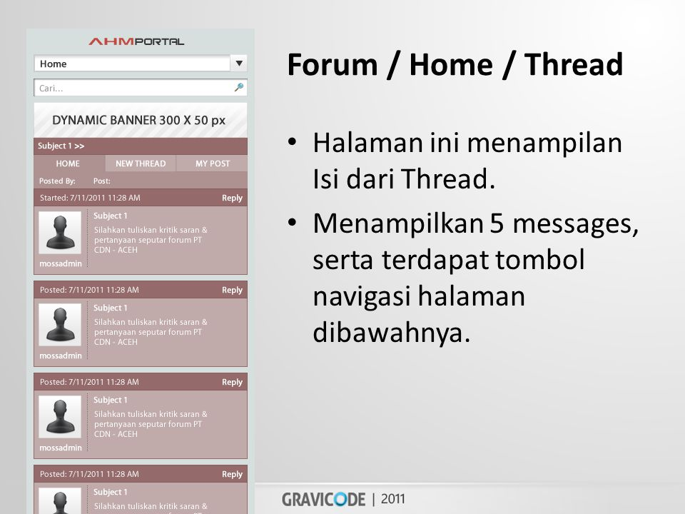 Forum / Home / Thread • Halaman ini menampilan Isi dari Thread.