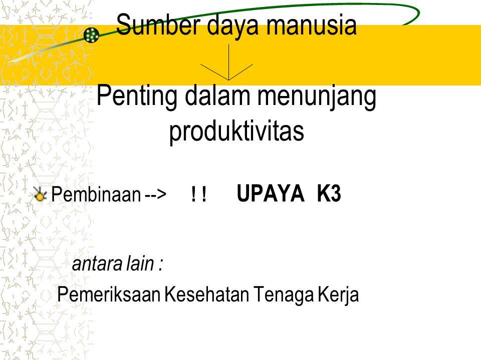 Aspek perundangan UU no.1 tahun 1970 pasal 8 Peraturan Menteri Tenaga Kerja dan Transmigrasi no.