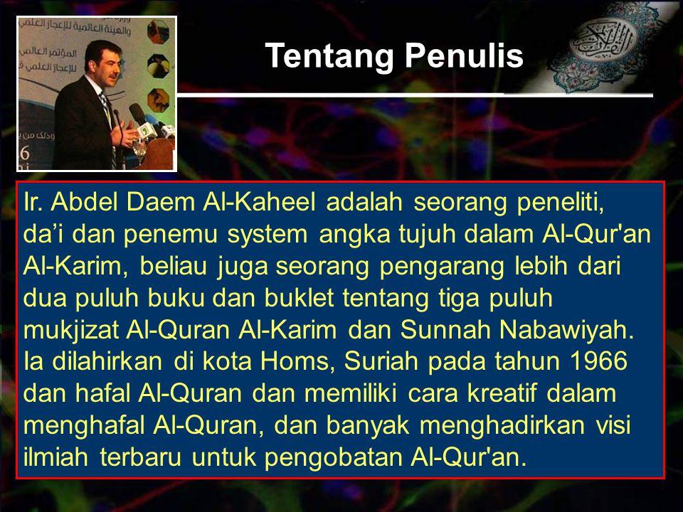 Ide Penelitian Banyak pemain sulap yang mengklaim mampu melakukan penyembuhan, dan banyak diantara mereka menggunakan ayat-ayat Al-Quran guna meyakinkan orang kemampuan mereka memberikan kesembuhan melalui Al-Quran, namun tampak melalui proliferasi dramatis akan penipuan dan dusta mereka, sehingga dengan demikian harus membuat kaidah- kaidah yang berkaitan dengan pengobatan melalui Al-Quran, namun permasalahan pertama yang dibutuhkan adalah bagaimana dasar-dasar ilmiah untuk pengobatan ini.
