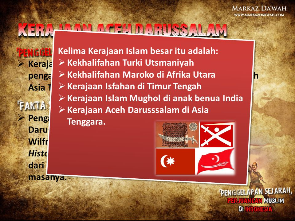  Kerajaan Aceh Darussalam tidaklah besar dan pengaruhnya juga tidak sampai meluas melebihi wilayah Asia Tenggara.  Pengaruh politisi dan ekonomis Ke