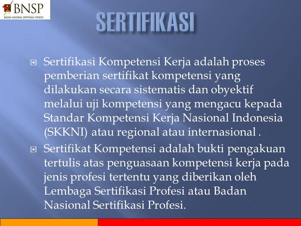 TUJUAN PELATIHAN BERBASIS KOMPETENSI TUJUAN PELATIHAN BERBASIS KOMPETENSI  Memperbaiki efektifitas dan kemampuan Perusahaan/Industri di Indonesia ter