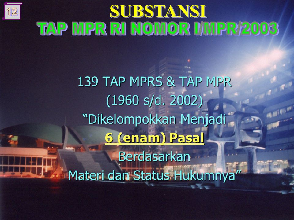 139 TAP MPRS & TAP MPR (1960 s/d.