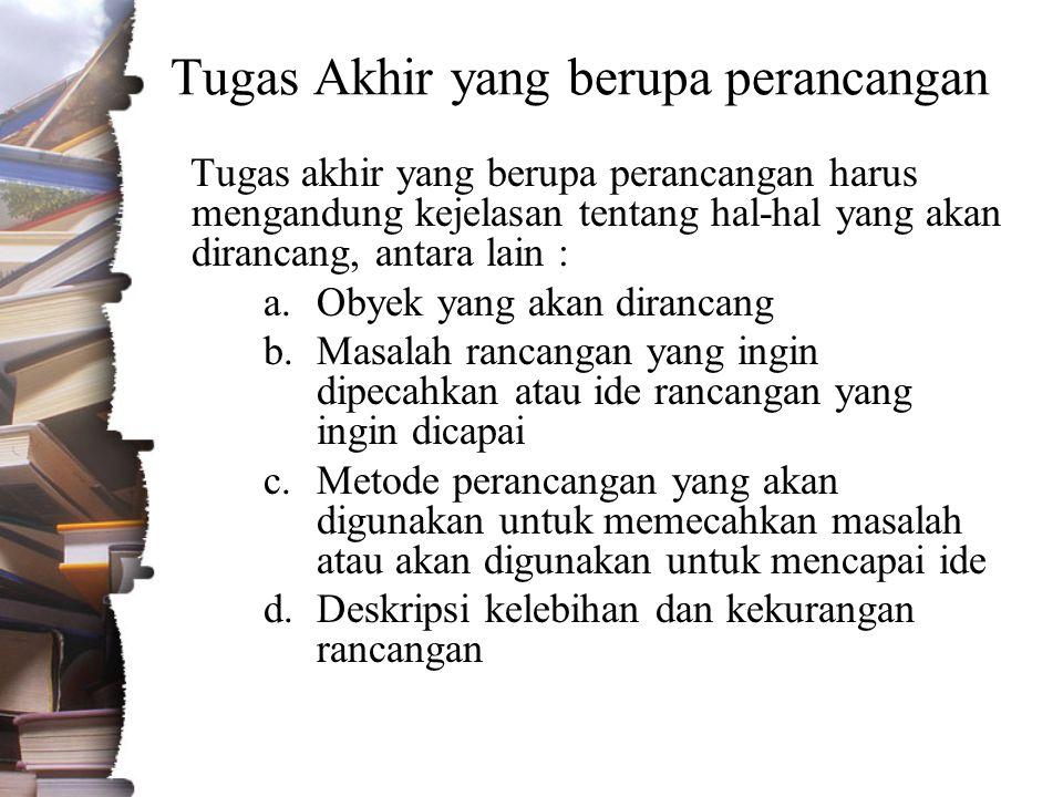Format Laporan a.Jenis dan ukuran kertas : Kertas HVS 80 gram ukuran A5 (148 mm x 210 mm) b.Jarak spasi : 1 (satu) c.Jarak tepi (margin) : •Tepi atas: 2.5 cm •Tepi bawah: 2.5 cm •Tepi kiri: 2.5 cm •Tepi kanan: 2.0 cm
