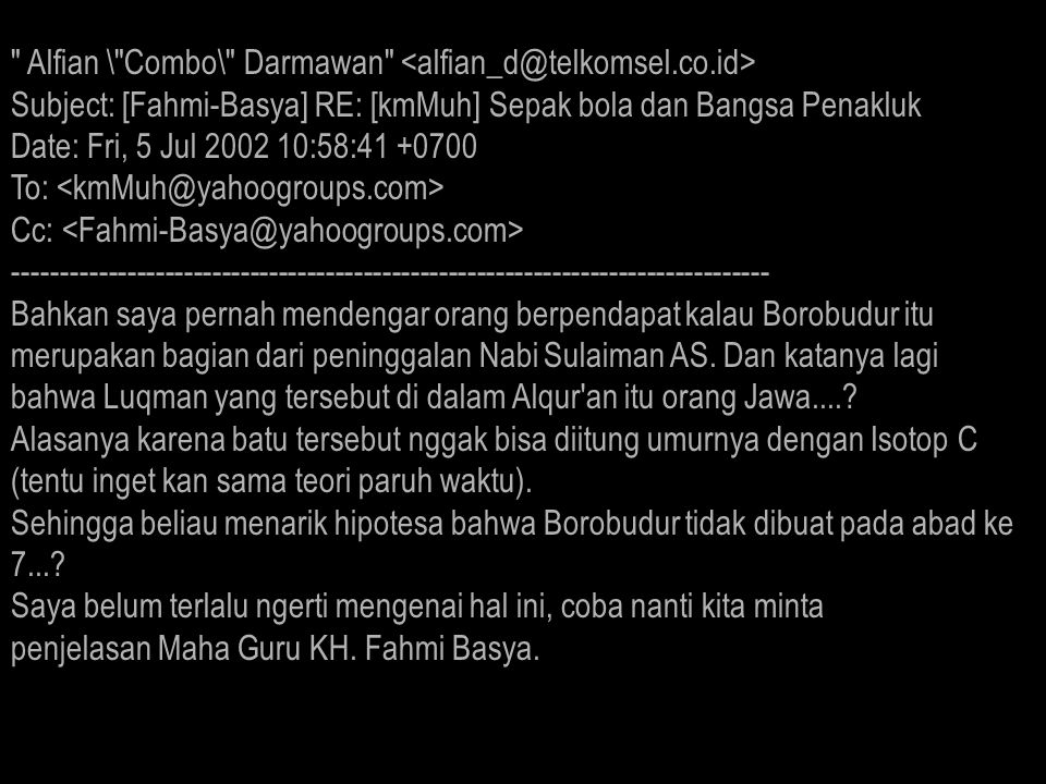 Fahmi_Basya @ telkom.net KH.Fahmi Basya KH.Fahmi Basya Kh_Fahmi_Basya @ hotmail.
