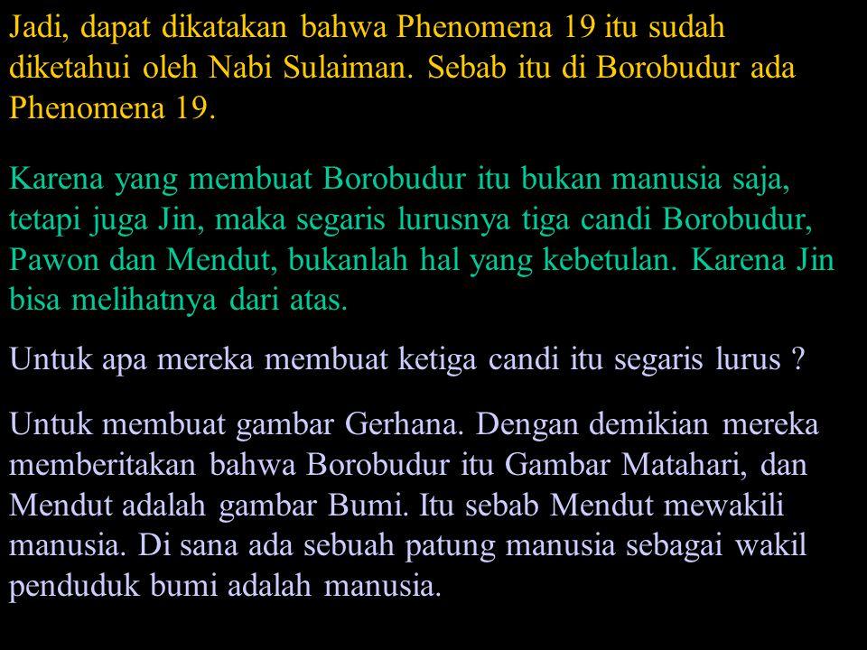 Gambar Gerhana Matahari Borobudur Pawon Mendut (A Rupa Dhatu)