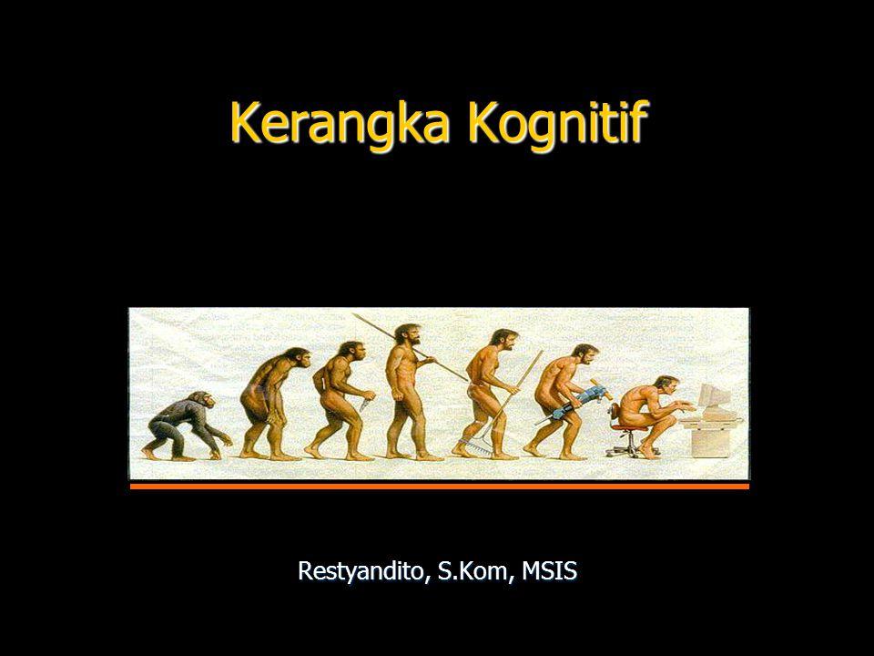 Kerangka Kognitif Restyandito, S.Kom, MSIS