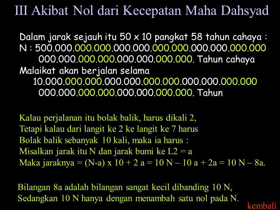 Dalam jarak sejauh itu 50 x 10 pangkat 58 tahun cahaya : N : 500.000.000.000.000.000.000.000.000.000.000.000 000.000.000.000.000.000.000.000.