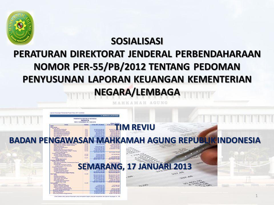 Latar Belakang 1.Adanya peraturan/kebijakan terkait akuntansi dan pelaporan keuangan yang baru/diganti/dihapus 2.Penyesuaian dengan BAS terakhir 3.Penyederhaan LKKL dan lampirannya 2