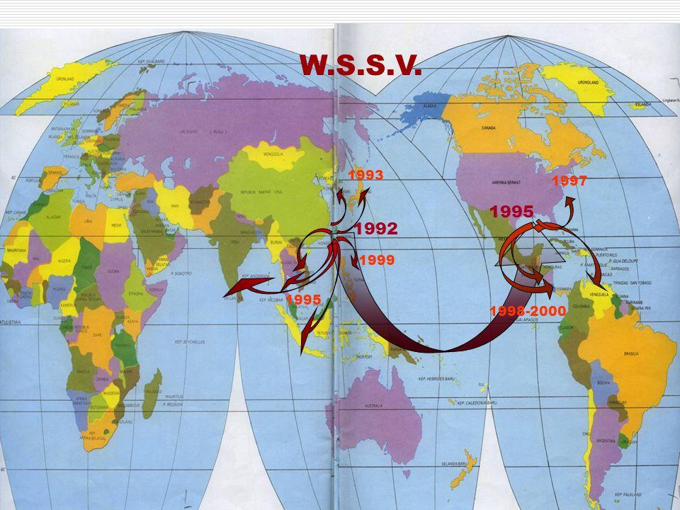 1992 1993 1995 1999 W.S.S.V. 1995 1998-2000 1997