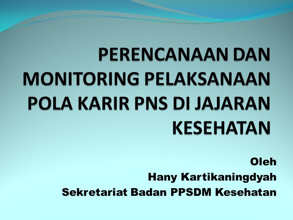 Oleh Hany Kartikaningdyah Sekretariat Badan PPSDM Kesehatan