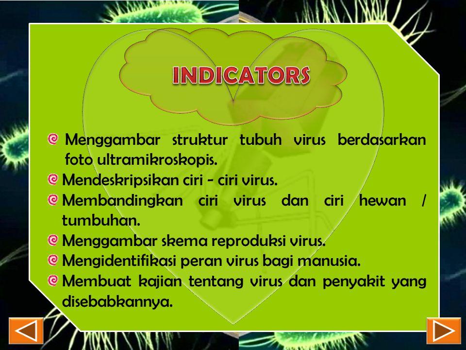 7. Virus disebut benda mati karena virus dapat …