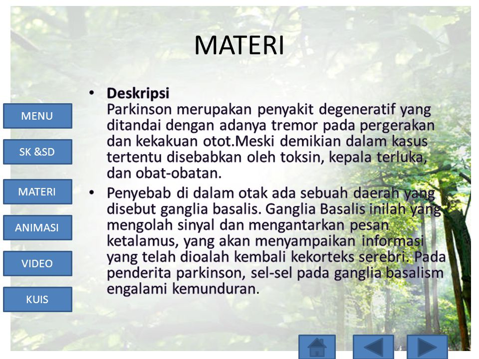 MENU SK &SD MATERI ANIMASI VIDEO KUIS MATERI