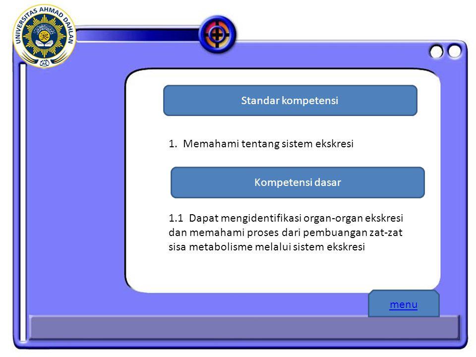 Standar kompetensi Kompetensi dasar 1.