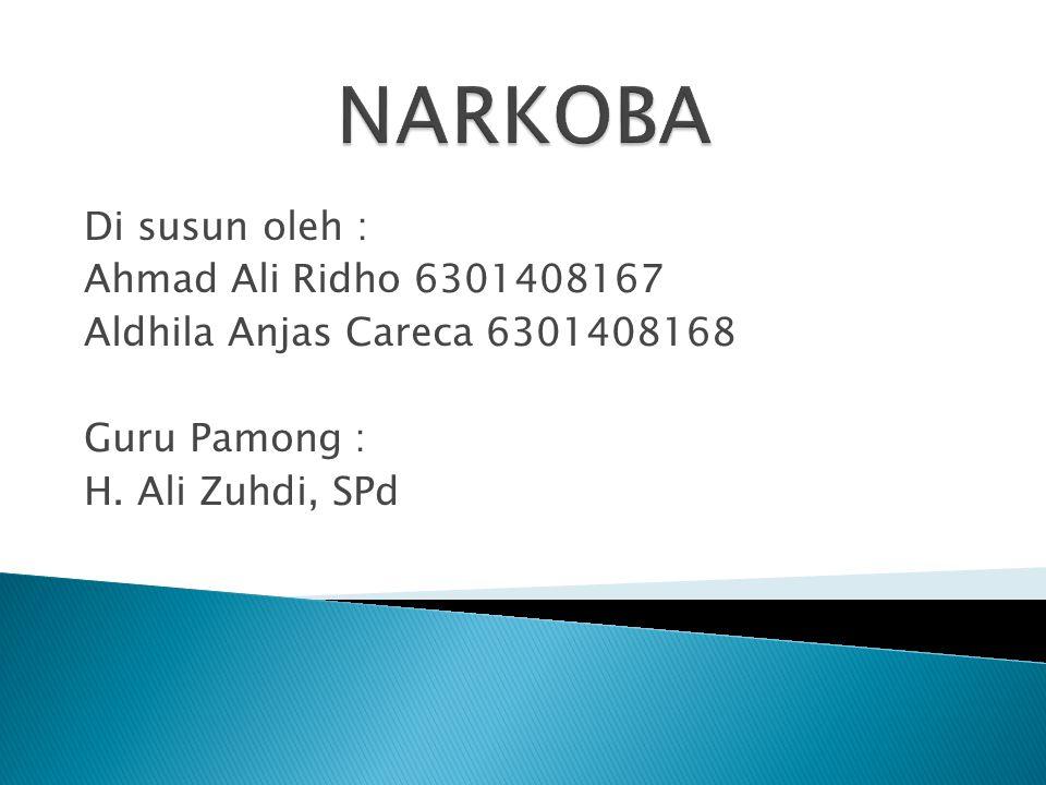 Di susun oleh : Ahmad Ali Ridho 6301408167 Aldhila Anjas Careca 6301408168 Guru Pamong : H. Ali Zuhdi, SPd