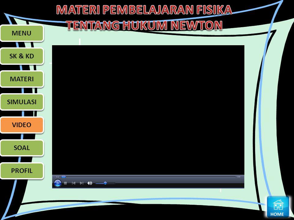 MENU SK & KD MATERI SIMULASI VIDEO SOAL PROFIL MENU SK & KD MATERI SIMULASI VIDEO SOAL PROFIL