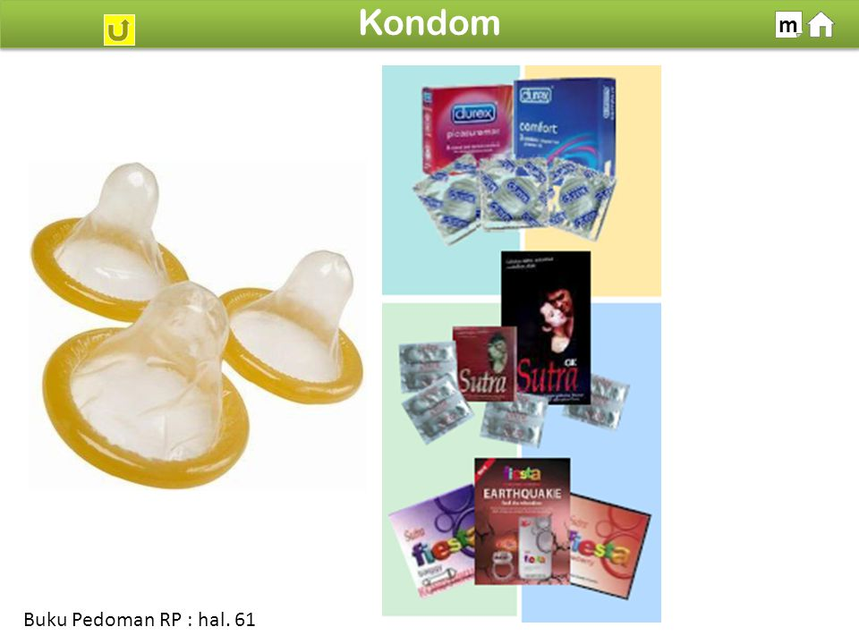 100% SDKI 2012 Kondom m Buku Pedoman RP : hal. 61