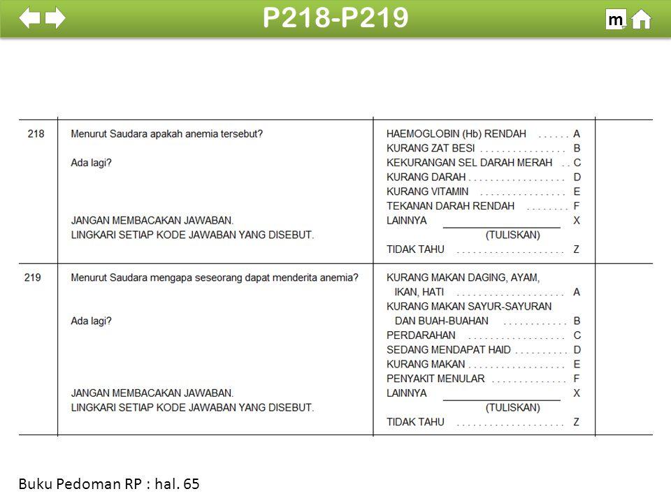 100% SDKI 2012 P218-P219 m Buku Pedoman RP : hal. 65