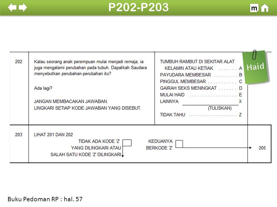 100% P202-P203 m Buku Pedoman RP : hal. 57
