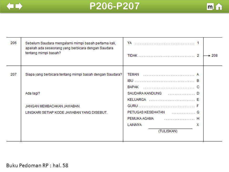 100% SDKI 2012 P206-P207 m Buku Pedoman RP : hal. 58