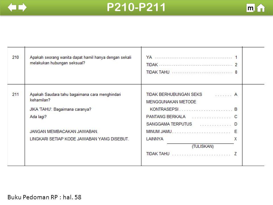 100% SDKI 2012 P210-P211 m Buku Pedoman RP : hal. 58