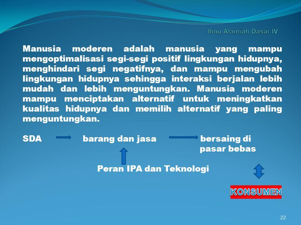 6. KIMIA DITINJAU DARI SEGI AGAMA ISLAM Tujuan pembangunan dalam era tinggal landas adalah meningkatkan kualitas manusia Indonesia. Dengan kata lain m