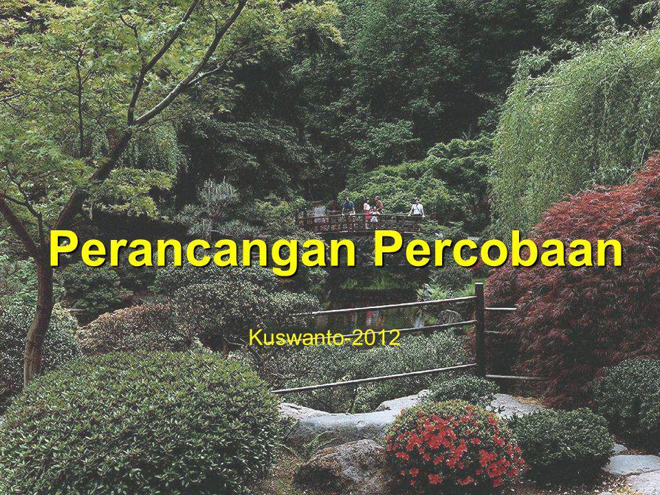 Perancangan Percobaan Kuswanto-2012