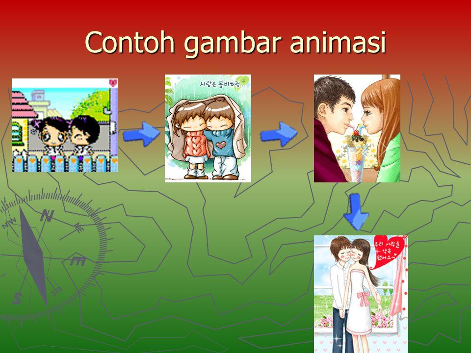 Contoh gambar animasi