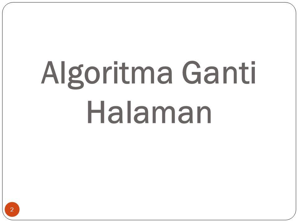 Algoritma Ganti Halaman 2