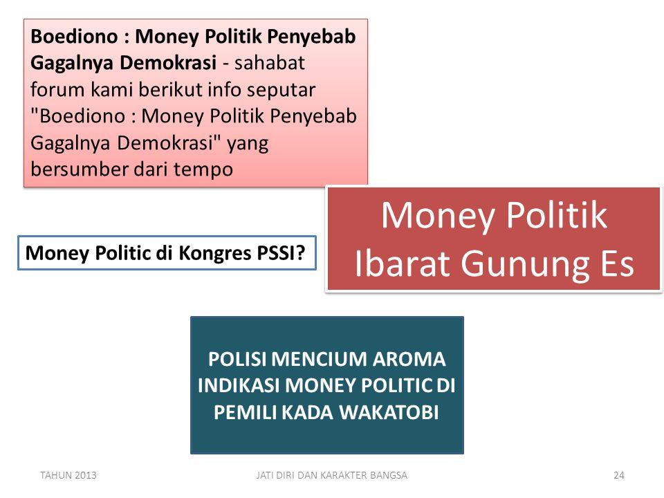 Boediono : Money Politik Penyebab Gagalnya Demokrasi - sahabat forum kami berikut info seputar