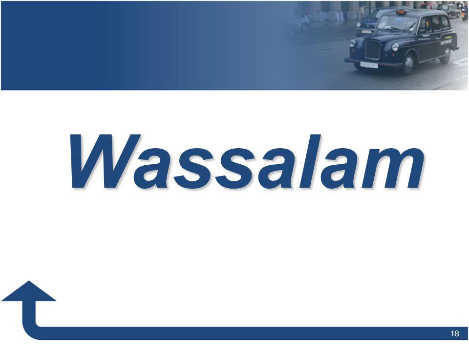 Wassalam 18