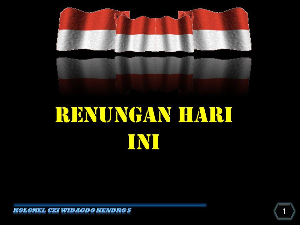 1 1 RENUNGAN HARI INI
