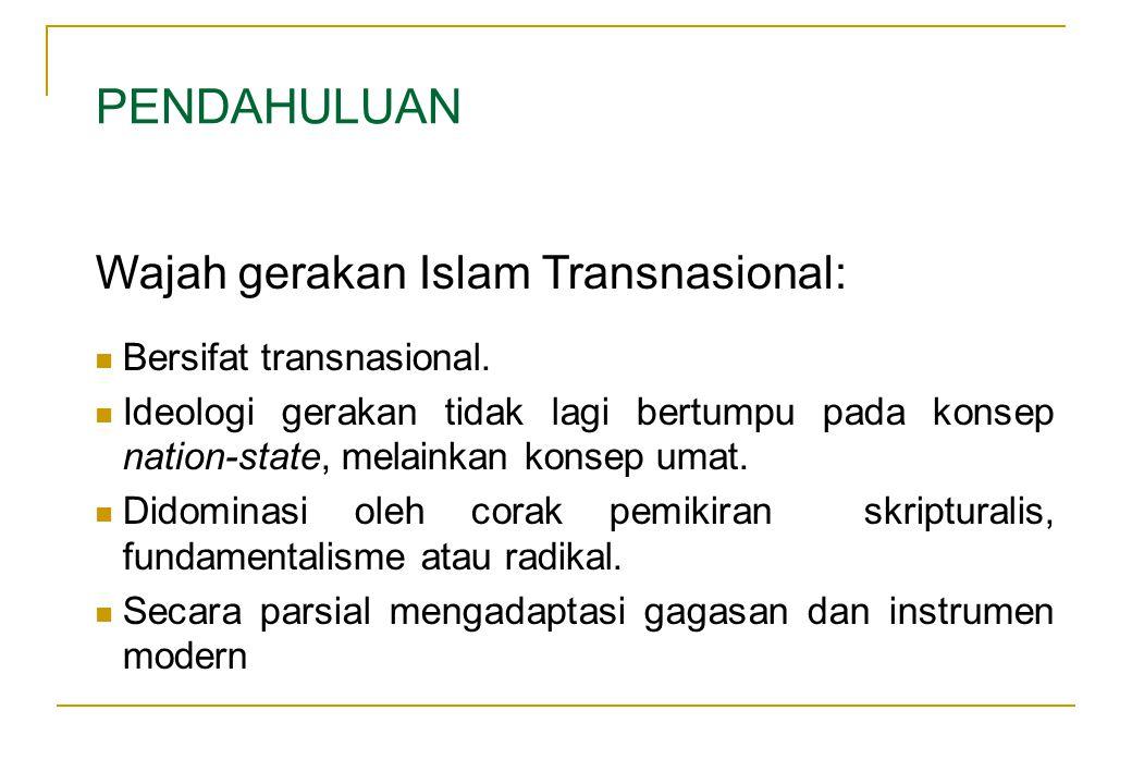 Bersifat transnasional.