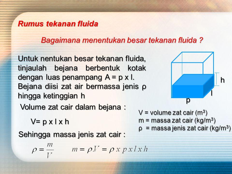 Menurut persamaan tekanan (P) berbanding terbalik dengan luas penampang (A). Semakin kecil luas penampang (A),semakin besar tekanan (P) Paku tajam mud