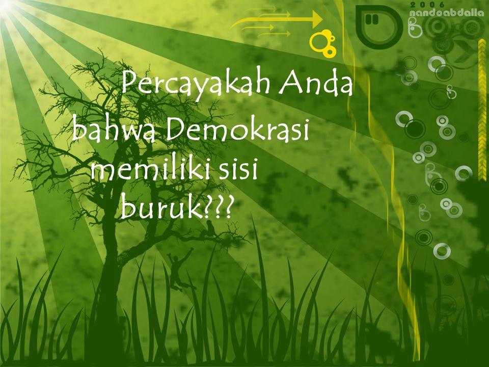 Pelaksanaan Demokrasi di Indonesia Created by : PILIPUS SATTUNG, S.Pd SMA KRISTEN BARANA'