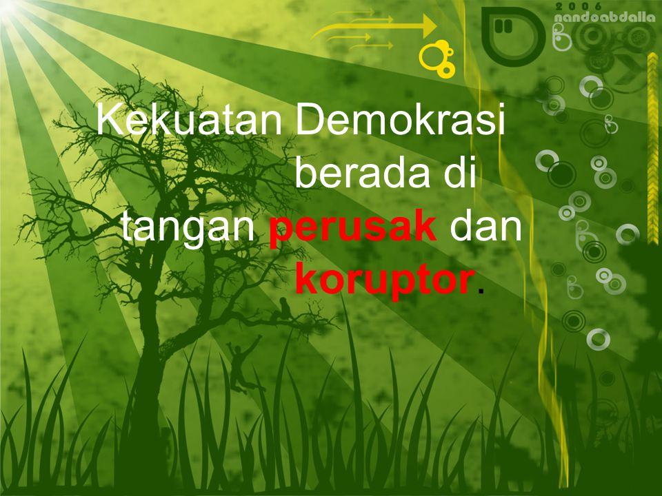 Hal ini menandakan bahwa Sistem demokrasi liberal tidak berhasil dilaksanakan di Indonesia, karena tidak sesuai dengan pandangan hidup dan kepribadian bangsa Indonesia.