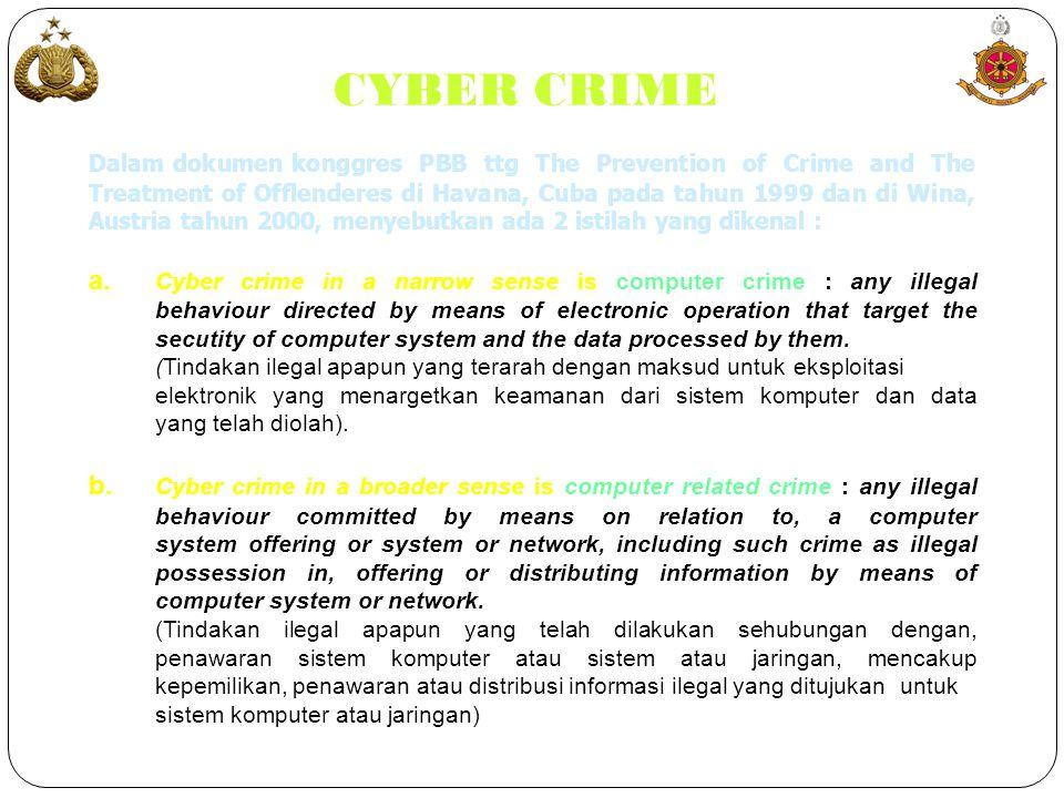 PENUTUP  Keamanan Internet semakin menuntut perhatian dari semua pihak.