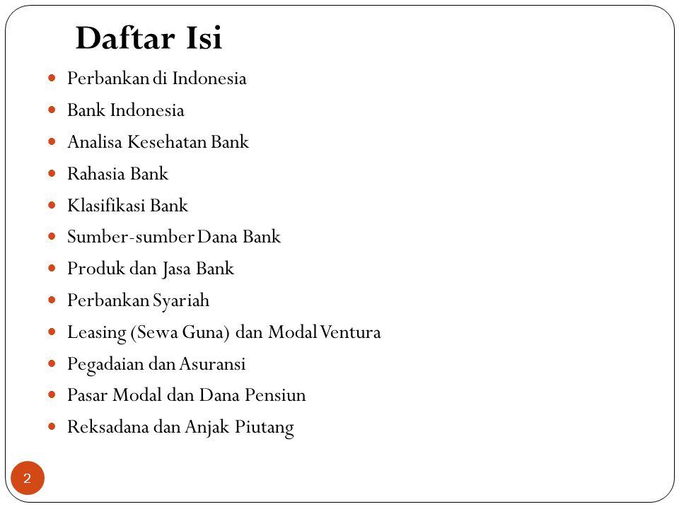 PENGECUALIAN RAHASIA BANK DALAM UU 7 TAHUN 1992 1.