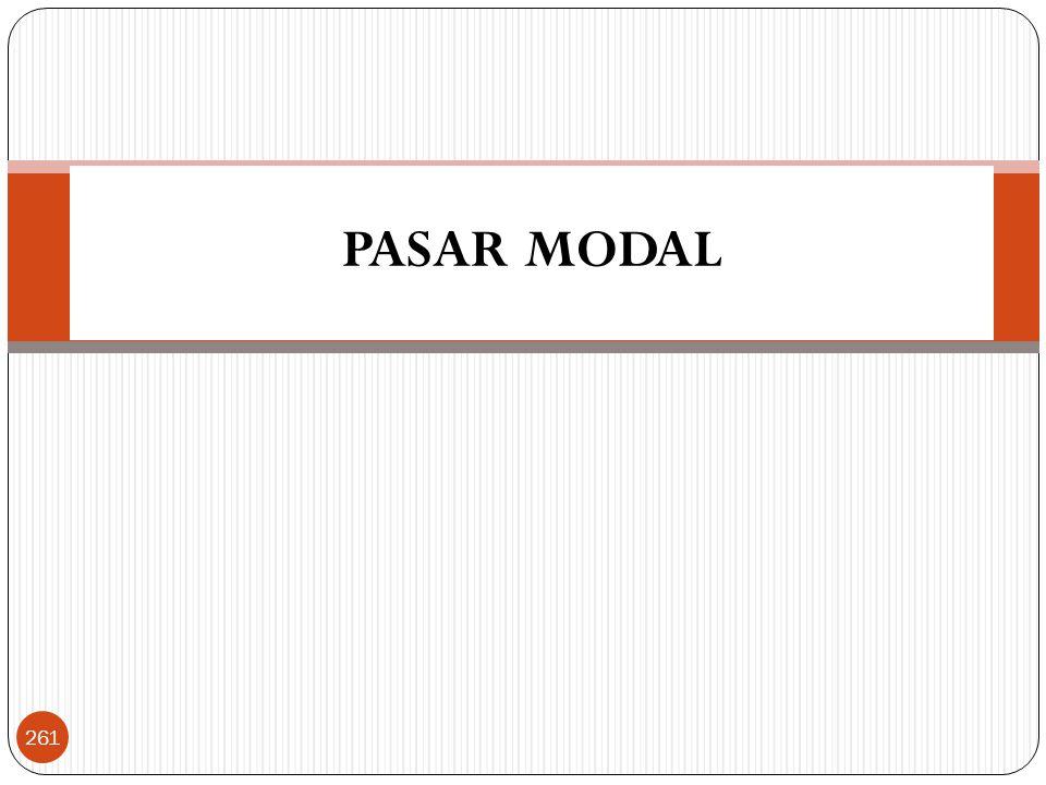 PASAR MODAL 261