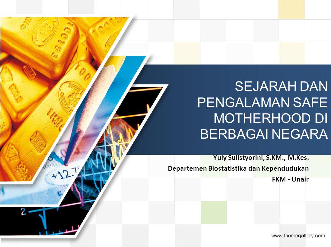 - Malaysia Penurunan AKI cukup pesat, yaitu dari 150/100.000 KH (1970) mjd 30/100.000 KH (1995).