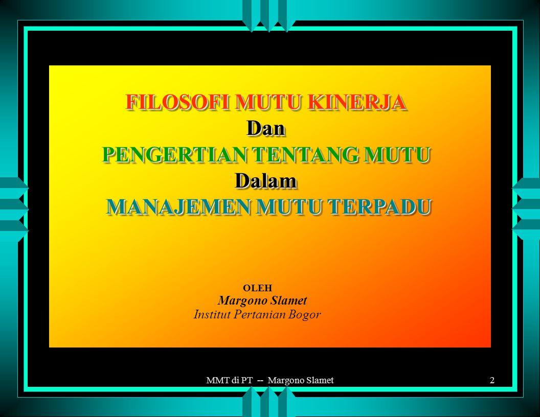 MMT di PT -- Margono Slamet1