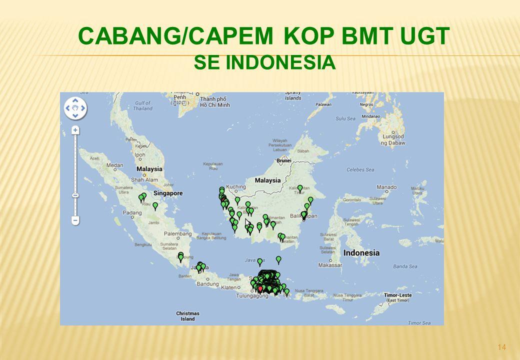 14 CABANG/CAPEM KOP BMT UGT SE INDONESIA