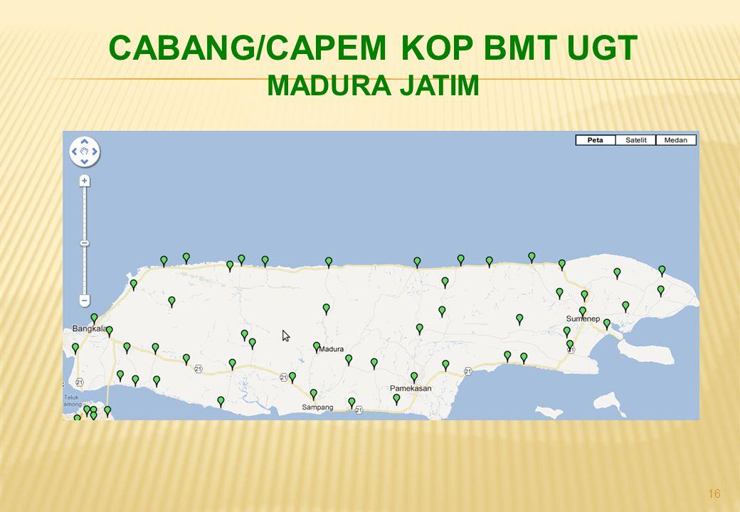 16 CABANG/CAPEM KOP BMT UGT MADURA JATIM