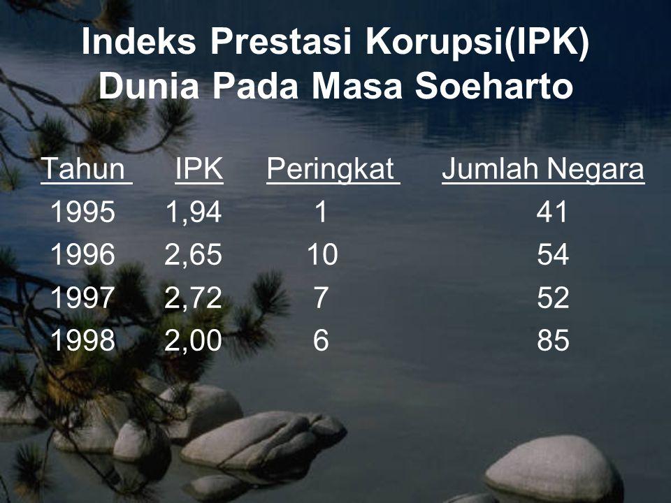 Realisasinya: Setelah satu tahun masa pemeintahan SBY, upaya pemberantasan korupsi masih terlalu sedikit dan bekerja di tempat.