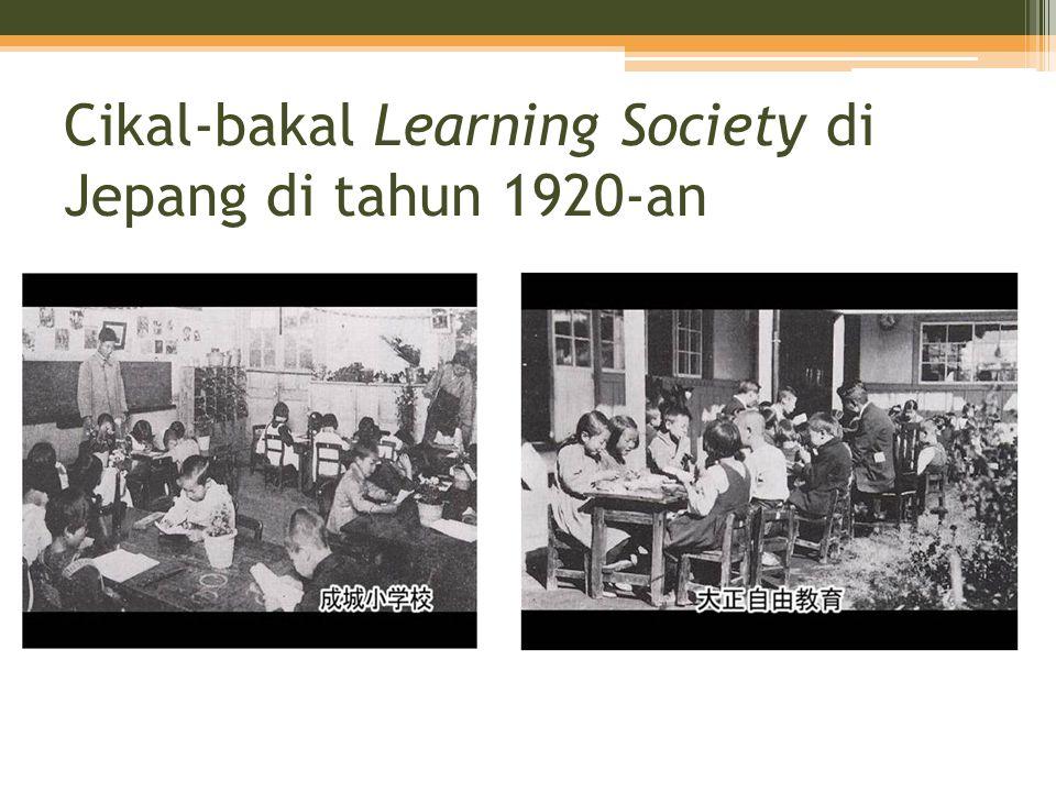 Cikal-bakal Learning Society di Jepang di tahun 1920-an