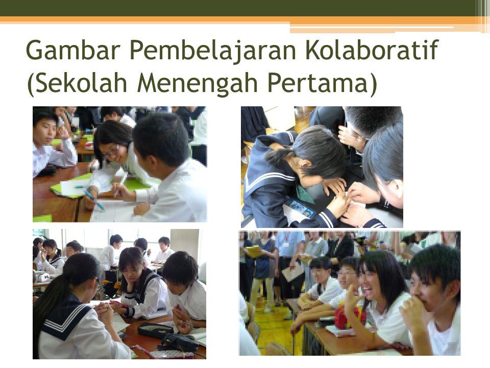 Gambar Pembelajaran Kolaboratif (Sekolah Menengah Pertama)